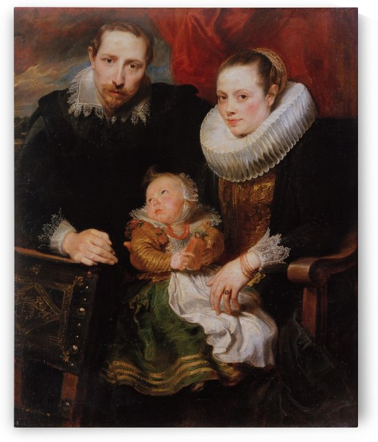 Family Portrait by Anthony van Dyck