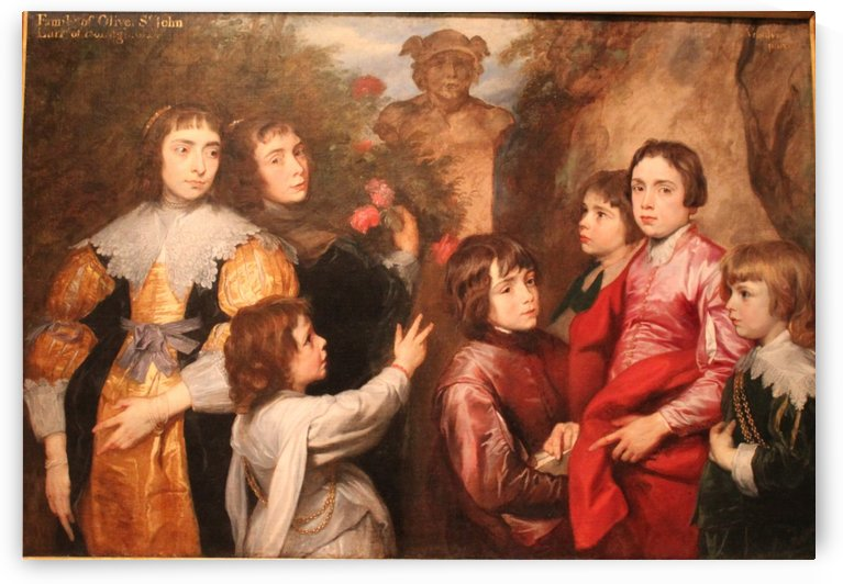 A Family Group by Anthony van Dyck