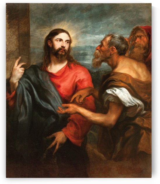 Christ of the Coin by Anthony van Dyck