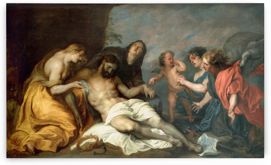 Lamentation over the Dead Christ by Anthony van Dyck