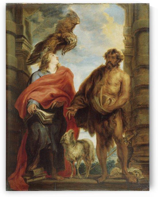 Los santos Juanes by Anthony van Dyck