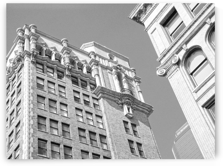 DTLA South Broadway & West 3rd - B&W by Hold Still Photography
