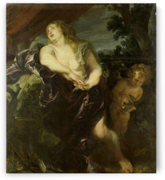 De boetvaardige Maria Magdalena by Anthony van Dyck