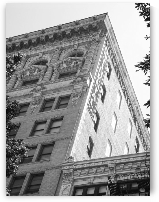 Continental Building DTLA - B&W by Hold Still Photography