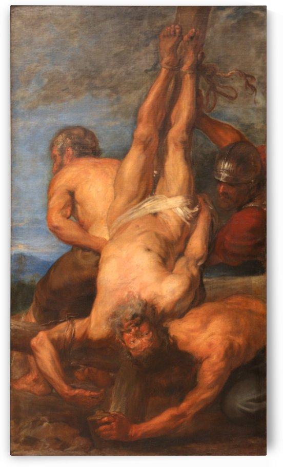 Le martyre de saint Pierre by Anthony van Dyck