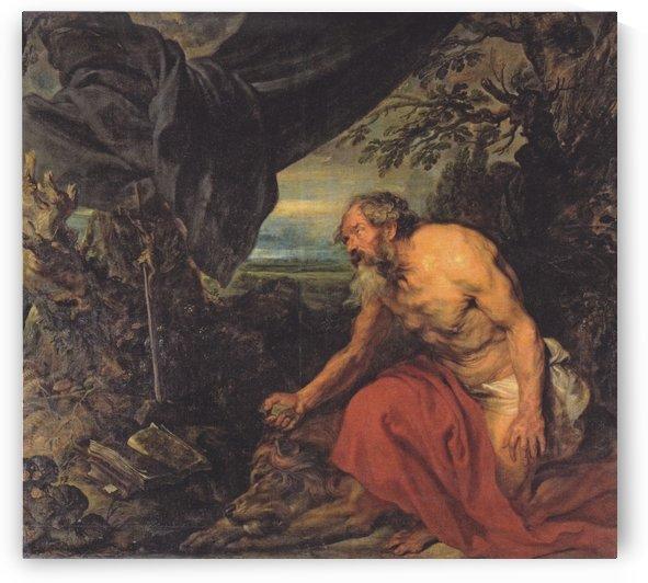 Der heilige Hieronymus by Anthony van Dyck