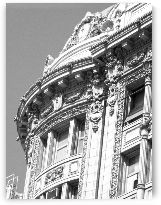B&W Intricate Details - DTLA by Hold Still Photography