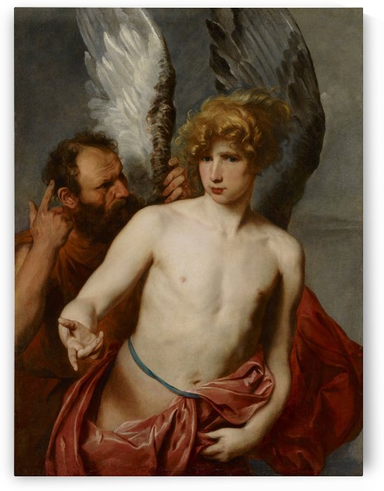 Daedalus and Icarus by Anthony van Dyck