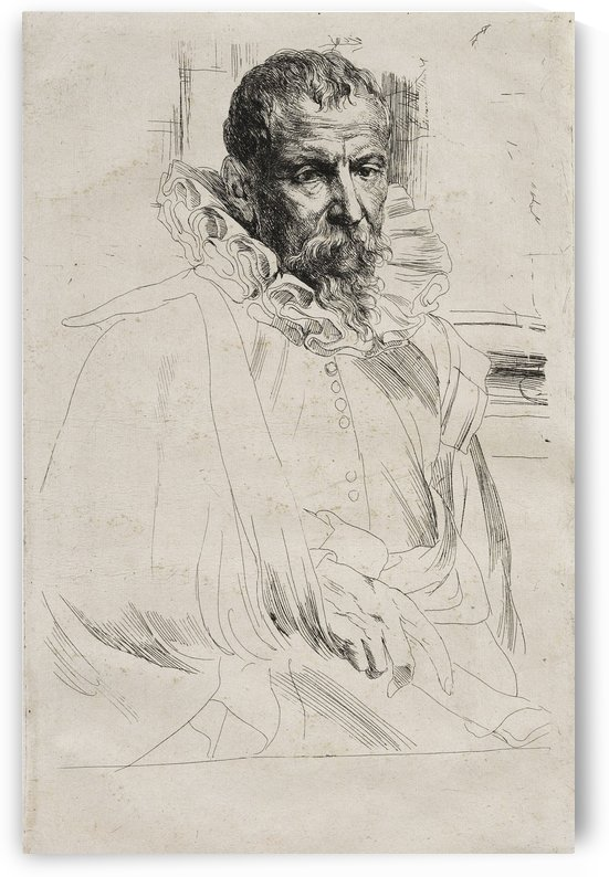 Pieter Brueghel the Younger by Anthony van Dyck