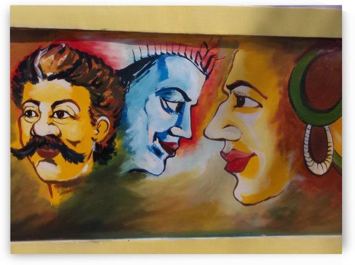 Graffiti by Nilu Mishra