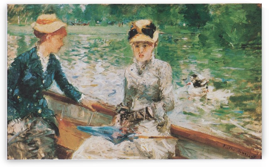 Sommertag by Berthe Morisot