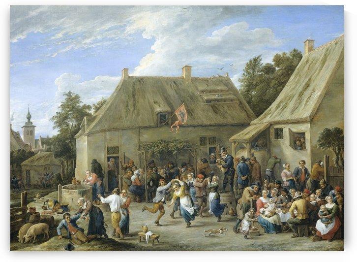 Boerenkermis by David Teniers the Younger