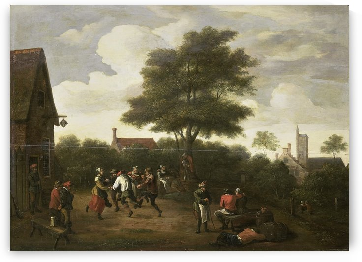 Dansende boeren by David Teniers the Younger
