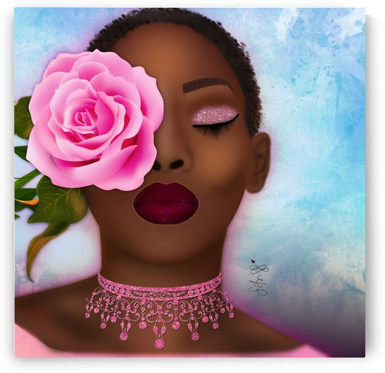 kissed by a rose by Blissful Art & Photography