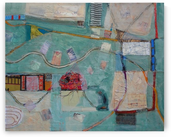 Map of Memory and Loss by DONNA REIBSLAGER