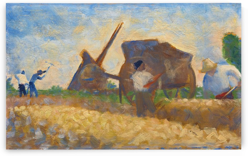Les Terrassiers by Georges Seurat