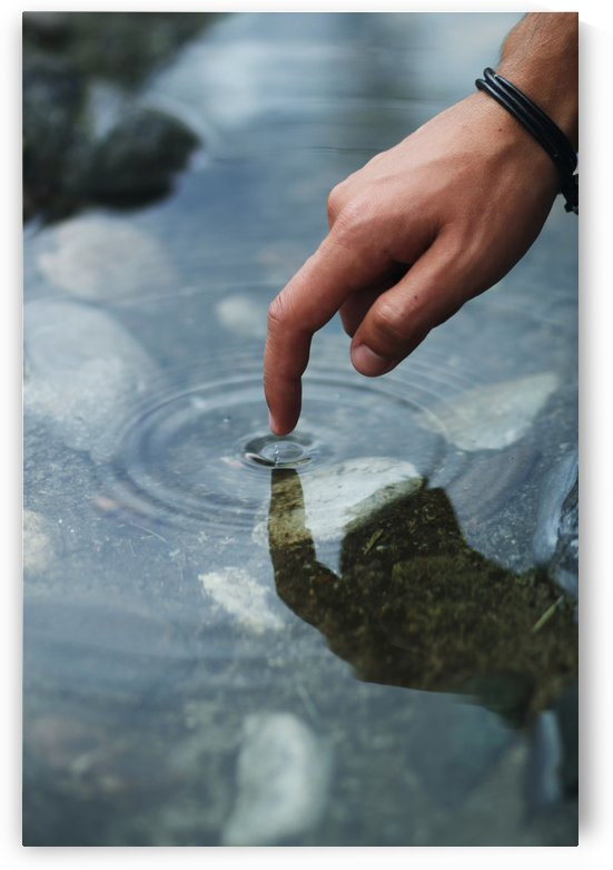 point the water by Besa Art