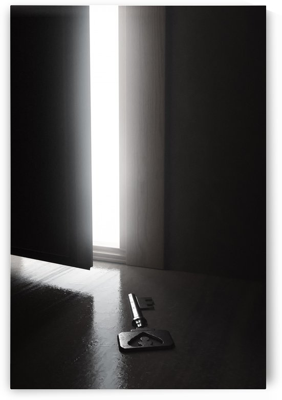 open the door by Besa Art