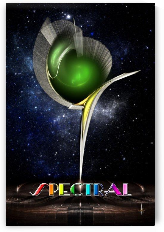 Spectral Fractal Art by xzendor7