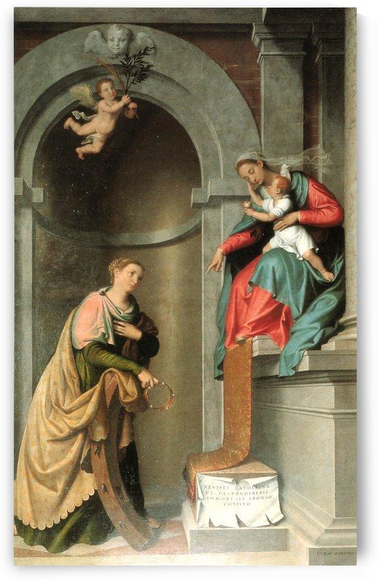 Madonna and S Caterina by Giovanni Battista Moroni