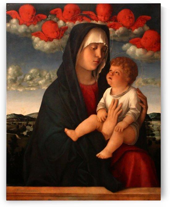 Madonna dei cherubini rossi by Giovanni Bellini