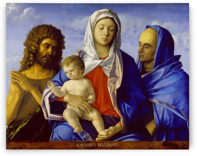 Bellini, Madonna mit Kind, Johannes dem Taufer und der heiligen Elisabeth by Giovanni Bellini