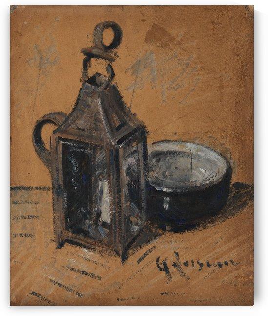 Die Laterne by Gustave Loiseau