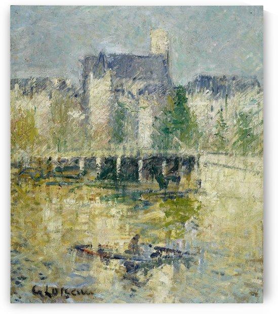 Le Pont de Moret sur Loing by Gustave Loiseau