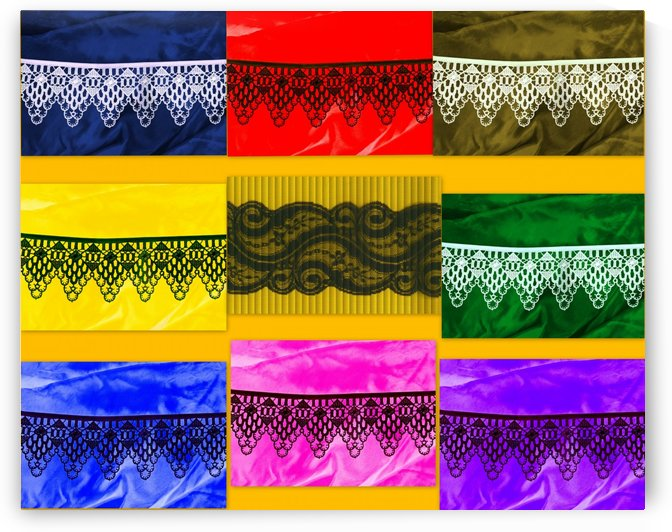 LACE COLLAGE by Tamarra Views