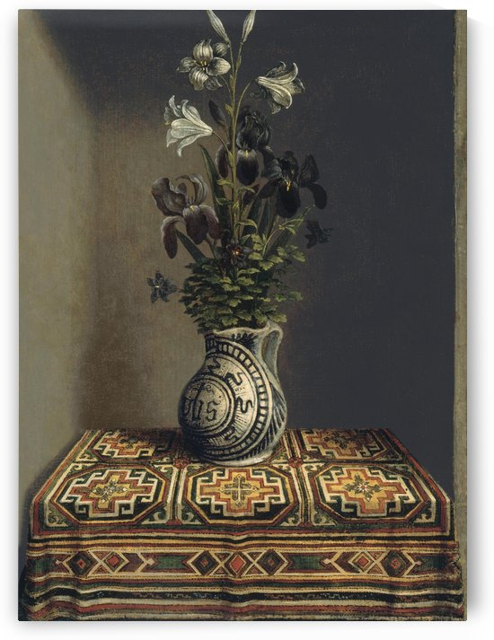 Flowers in a Jug by Hans Memling
