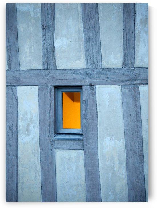 Mont Saint Michel Window by Maria Virginia Castro