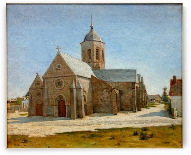 Dunkerque musee BA lesidaner etaple eglise by Henri Le Sidaner
