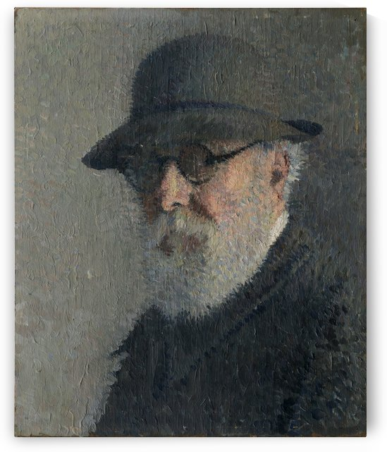 Autoportrait Henri Martin by Henri Martin