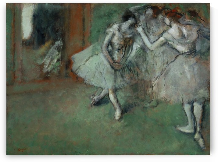 A Group of Dancers by Hilaire-Germain-Edgar Degas