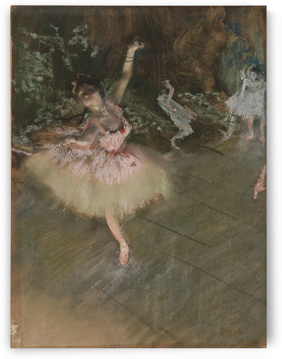 The Star by Hilaire-Germain-Edgar Degas