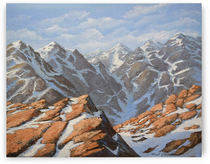 High Sierra In Winter by Frank Wilson
