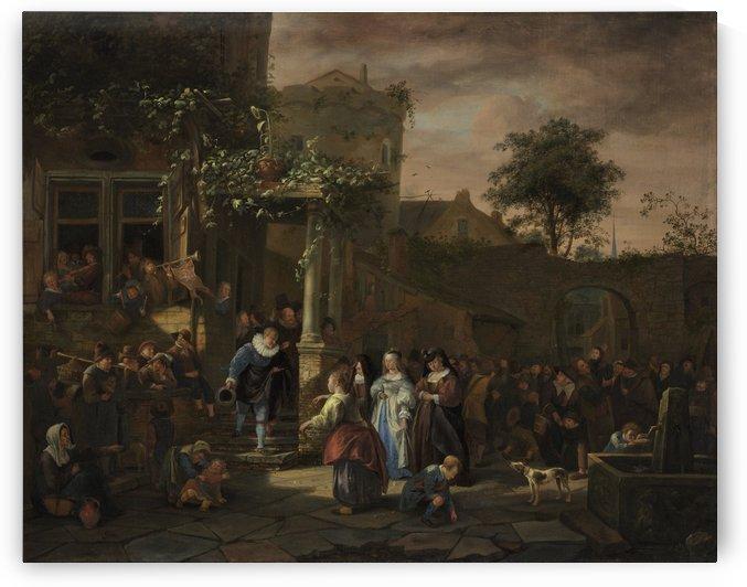 The Village Wedding by Jan Steen