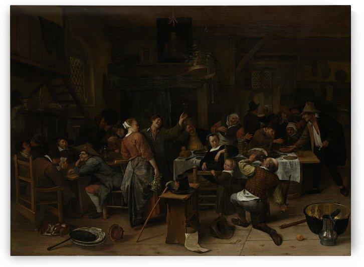 Prinsjesdag Rijksmuseum by Jan Steen