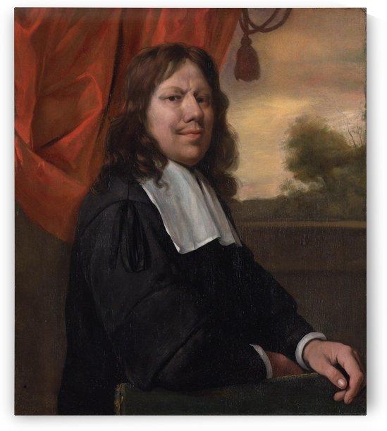 Jan Steen portrayed himself as a self-assured artist by Jan Steen