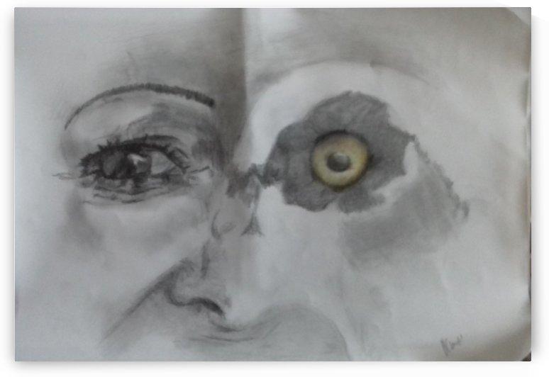 Eye Eye Goose Vcumper by Vanessa Cumper