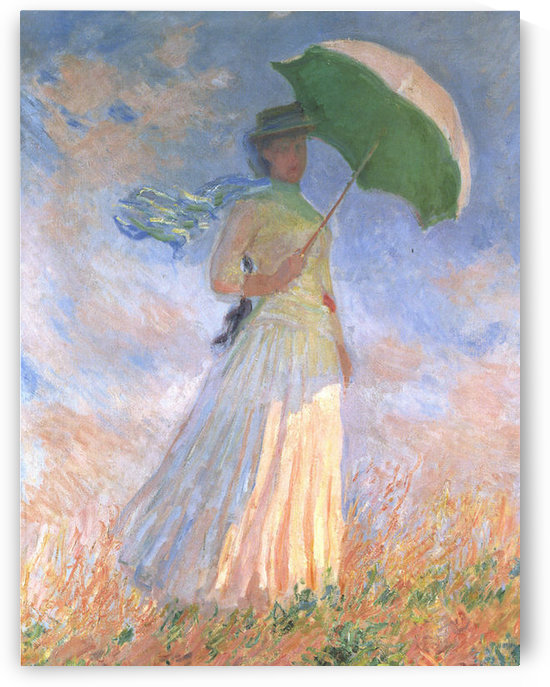 Woman with Parasol by