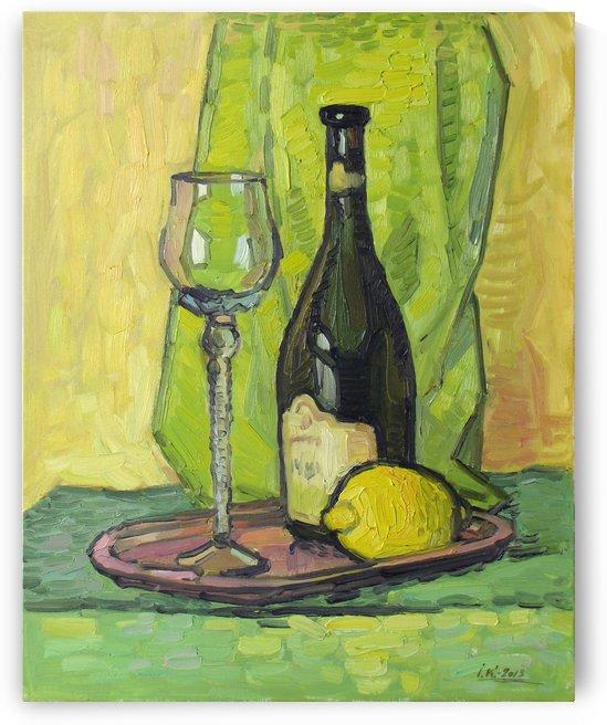 Still Life with Lemon by Ivan Kolisnyk