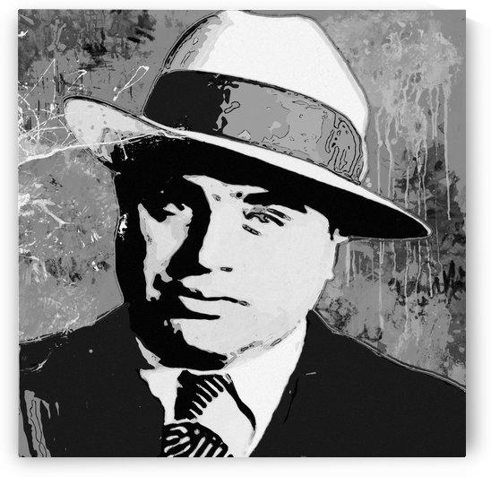 Al Capone Charcol by GABA