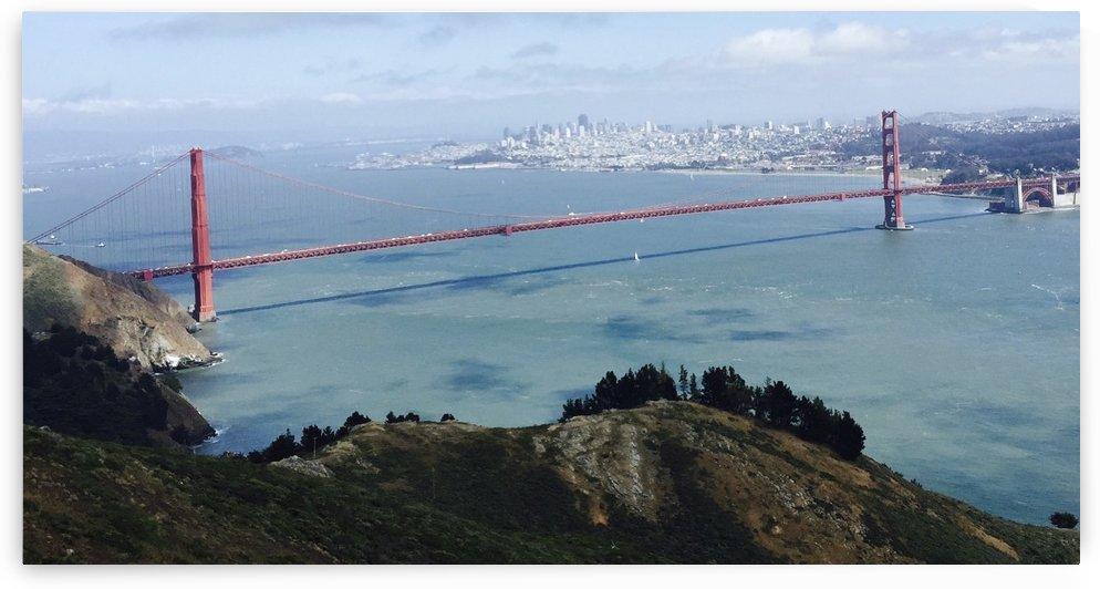 Golden Gate Bridge San Francisco by Ashden