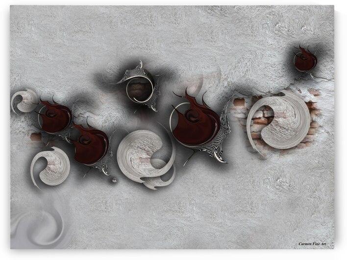 The Meditative Emotion by Carmen Fine Art