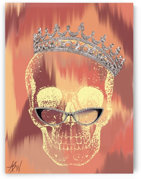 Queen Skull by WhiteOut Artwork