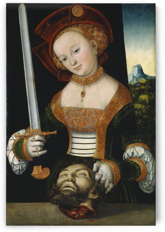 Judith mit dem Haupt des Holofernes by Lucas Cranach the Elder