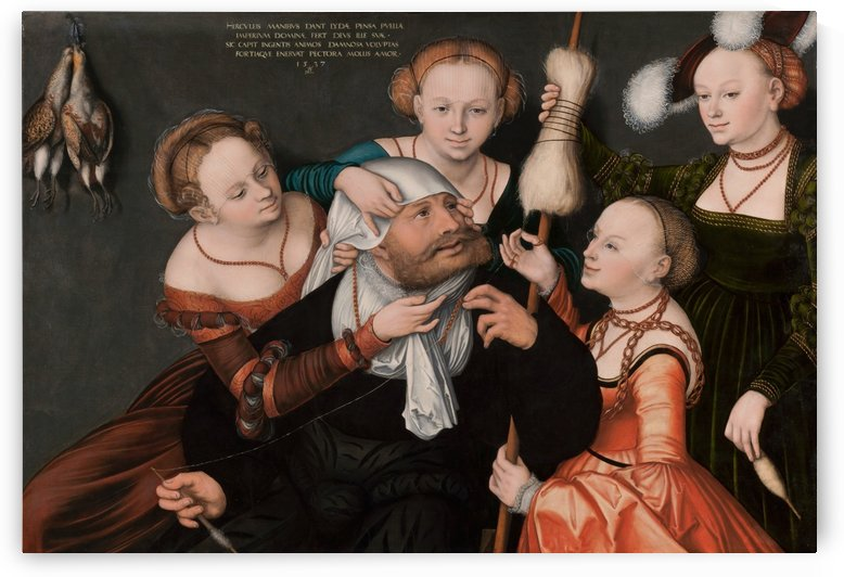 Hercules with Omphale by Lucas Cranach the Elder