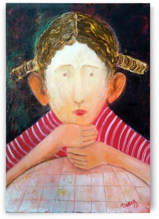 35.Desire. 2017 year  Original Painting Oil on Canvas 50 x 35 cm.2500$ by ZAKIR AHMEDOV