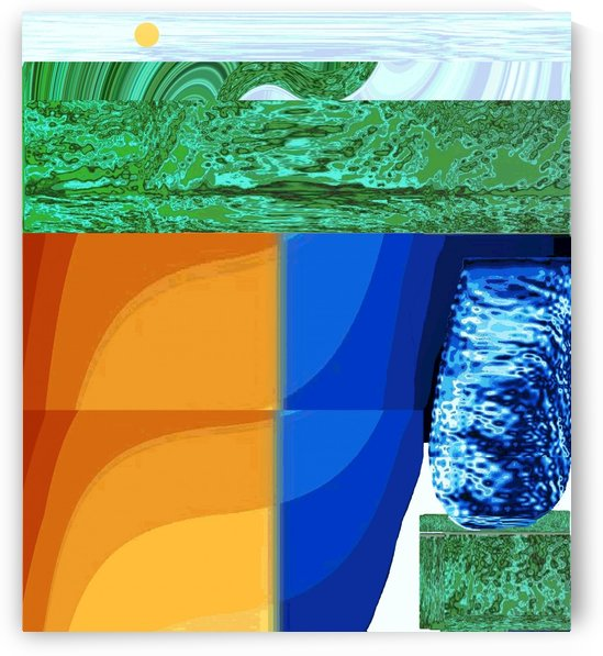 Rainbow_And_Glass by Mark Graphics and Pics